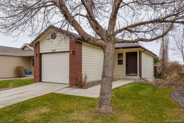 447 Lilac Avenue, Eaton, CO 80615 (#6767689) :: The DeGrood Team