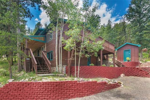 32371 Lodgepole Drive, Evergreen, CO 80439 (#6774072) :: Finch & Gable Real Estate Co.