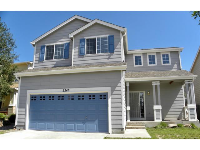 2247 Woodpark Drive, Colorado Springs, CO 80951 (MLS #6778128) :: 8z Real Estate