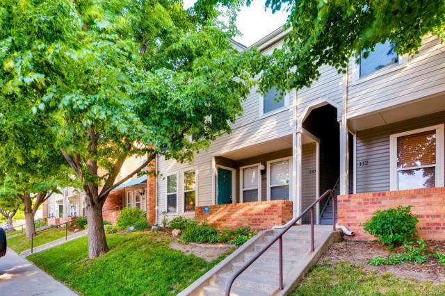 1201 Galapago Street #109, Denver, CO 80204 (#6778686) :: Sellstate Realty Pros
