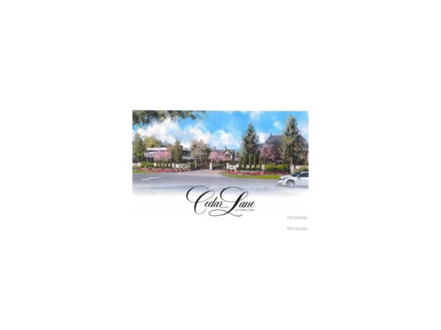 2821 E Cedar #23 Avenue, Denver, CO 80209 (MLS #6780048) :: 8z Real Estate