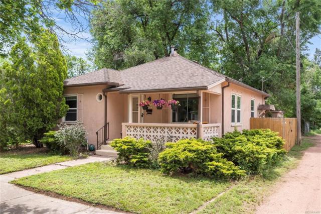 1117 E Monument Street, Colorado Springs, CO 80903 (#6781937) :: The Griffith Home Team