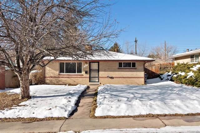 1681 S Zenobia Way, Denver, CO 80219 (MLS #6788707) :: The Sam Biller Home Team