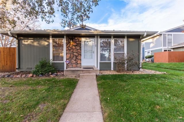 10001 E Evans Avenue 61A, Denver, CO 80247 (#6788920) :: My Home Team