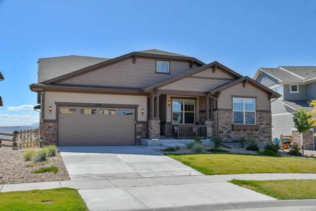 8733 Flattop Street, Arvada, CO 80007 (#6790770) :: My Home Team