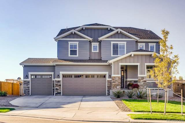 16858 E 116th Place, Commerce City, CO 80022 (#6791130) :: Bring Home Denver with Keller Williams Downtown Realty LLC