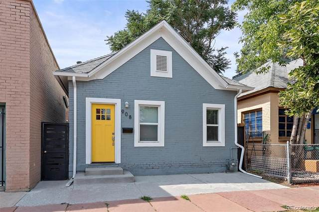 908 W 9th Avenue, Denver, CO 80204 (#6798176) :: Kimberly Austin Properties