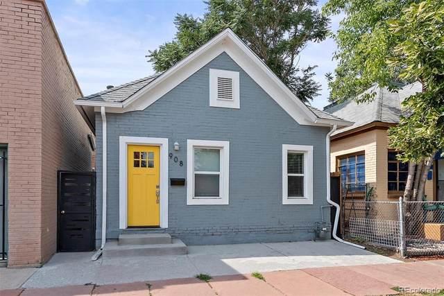 908 W 9th Avenue, Denver, CO 80204 (MLS #6798176) :: Neuhaus Real Estate, Inc.