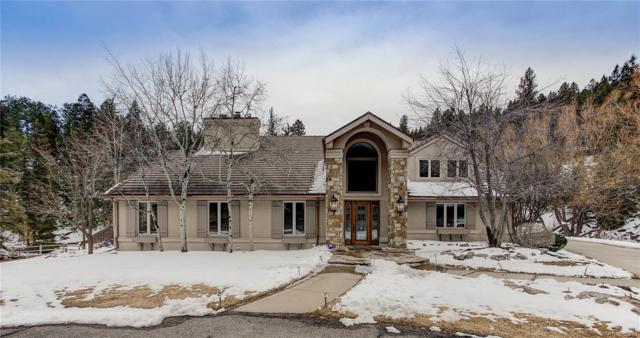 32142 Eagle Brook Drive, Evergreen, CO 80439 (#6800191) :: The Peak Properties Group