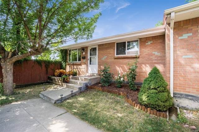 10356 W 59th Place #4, Arvada, CO 80004 (MLS #6802479) :: 8z Real Estate