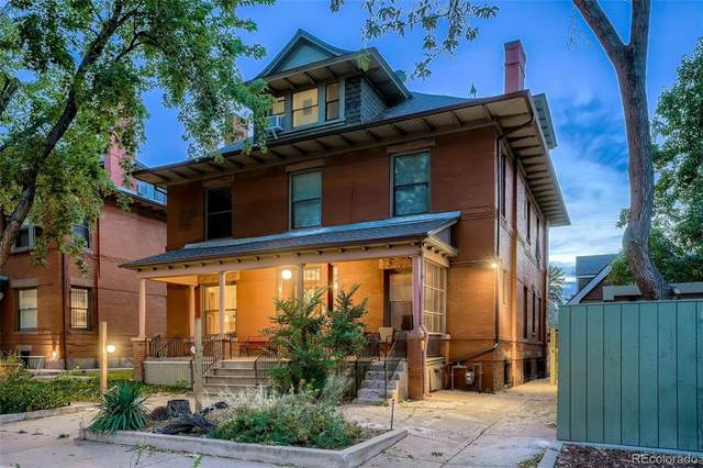 1415 N Franklin Street #2, Denver, CO 80218 (MLS #6804582) :: Re/Max Alliance