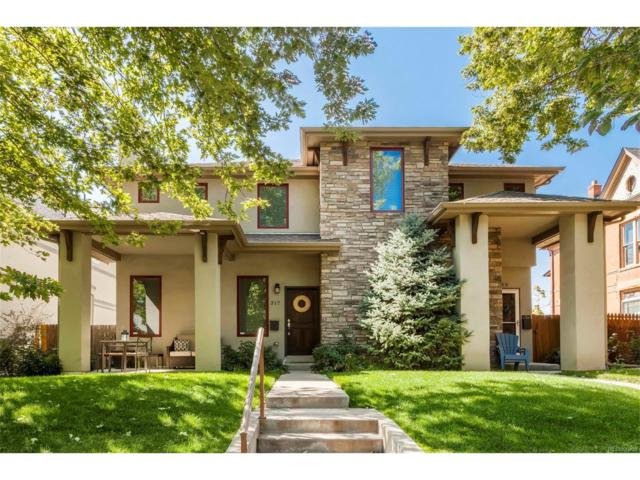 315 S Emerson Street, Denver, CO 80209 (#6805477) :: Wisdom Real Estate
