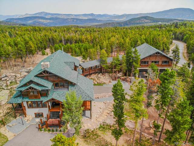 9101 Mountain Ranch Road, Conifer, CO 80433 (#6807905) :: Sultan Newman Group