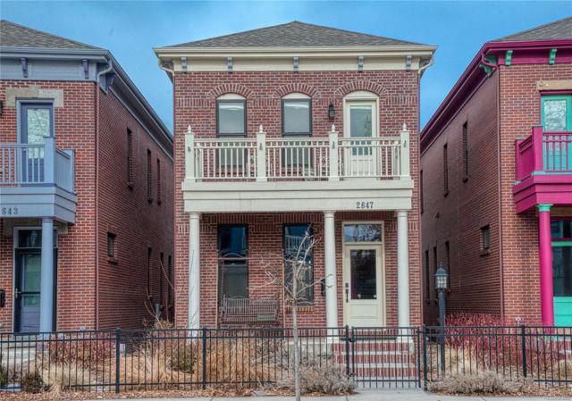 2647 Curtis Street, Denver, CO 80205 (MLS #6811275) :: 8z Real Estate