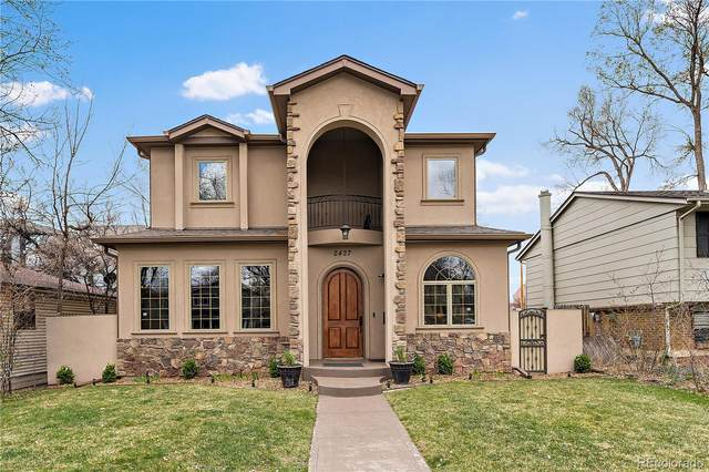 2427 S Josephine Street, Denver, CO 80210 (#6816538) :: Venterra Real Estate LLC