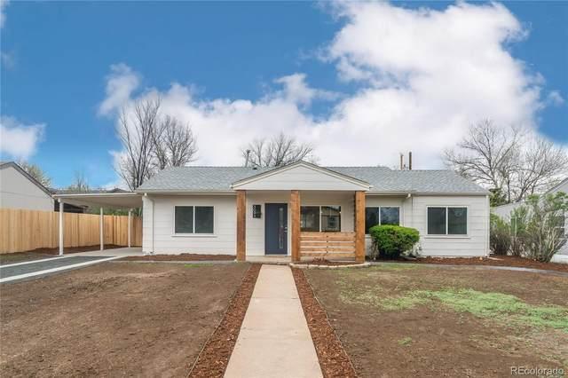 3091 S Eudora Street, Denver, CO 80222 (#6820828) :: The HomeSmiths Team - Keller Williams