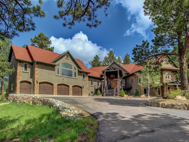 1356 Elk View Road, Larkspur, CO 80118 (#6822273) :: Bicker Realty