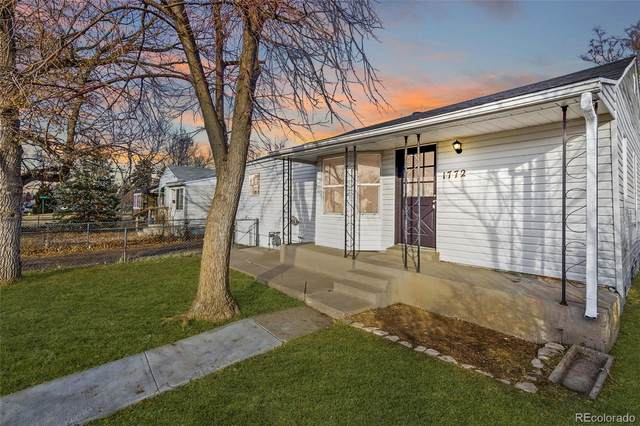 1772 Elmira Street, Aurora, CO 80010 (#6823710) :: Stephanie Fryncko | Keller Williams Integrity