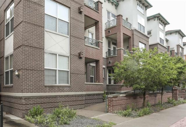 1727 Pearl Street #104, Denver, CO 80203 (#6825324) :: The Peak Properties Group