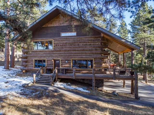 4150 Aztec Road, Indian Hills, CO 80454 (#6827983) :: Berkshire Hathaway Elevated Living Real Estate
