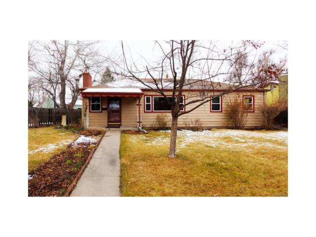 1361 S Glencoe Street, Denver, CO 80222 (#6829857) :: Thrive Real Estate Group