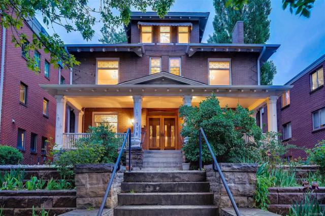 770 Clarkson Street, Denver, CO 80218 (#6830968) :: 5281 Exclusive Homes Realty