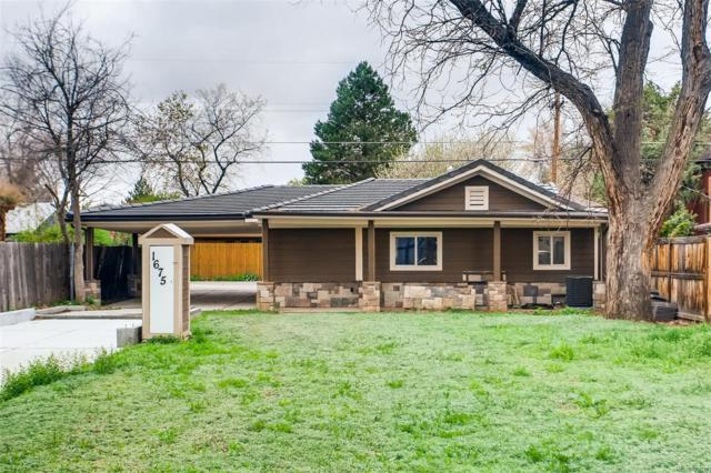 1675 Roslyn Street, Denver, CO 80220 (MLS #6833289) :: 8z Real Estate