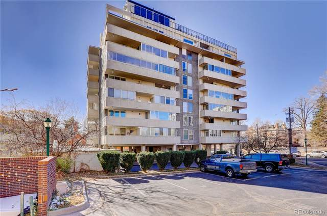 740 Pearl Street #201, Denver, CO 80203 (#6838333) :: The Dixon Group