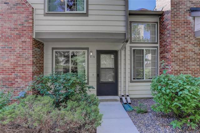 816 Summer Drive 7C, Highlands Ranch, CO 80126 (#6839869) :: The Heyl Group at Keller Williams