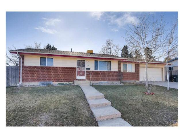 1434 W 103rd Place, Northglenn, CO 80260 (#6840135) :: The Griffith Home Team