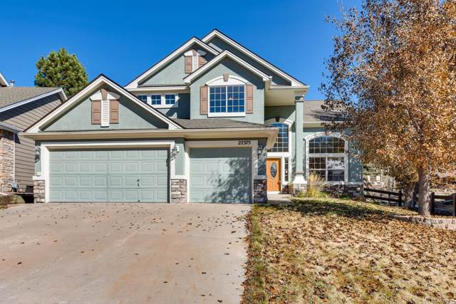 22375 Quail Run Drive, Parker, CO 80138 (#6840757) :: The Healey Group