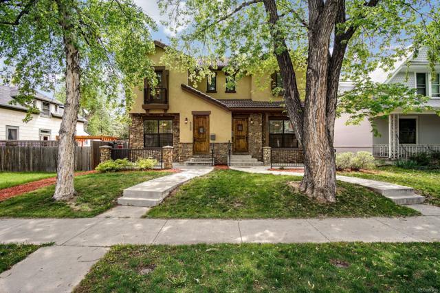 322 S Ogden Street, Denver, CO 80209 (#6843972) :: Wisdom Real Estate