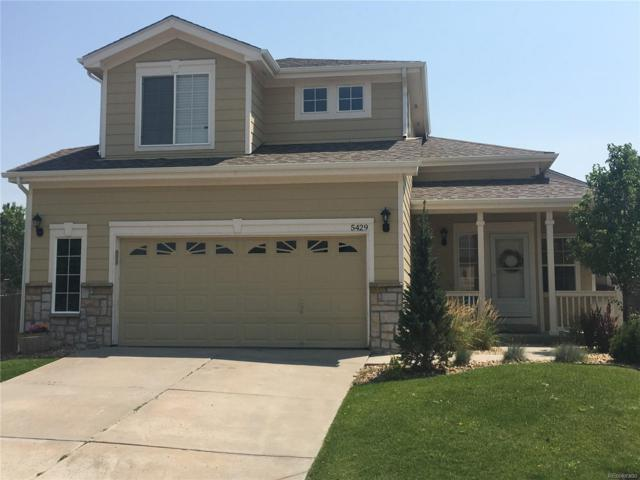 5429 Ben Park Circle, Parker, CO 80134 (#6844936) :: The City and Mountains Group