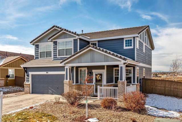 385 Ellendale Street, Castle Rock, CO 80104 (MLS #6846635) :: 8z Real Estate
