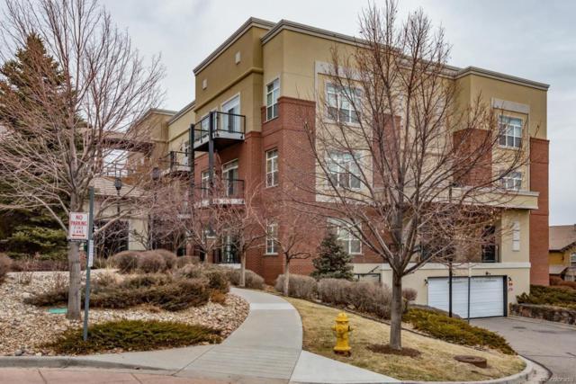 5401 S Park Terrace Avenue 104D, Greenwood Village, CO 80111 (#6846984) :: James Crocker Team