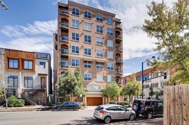 1100 Cherokee Street #801, Denver, CO 80204 (#6848079) :: 5281 Exclusive Homes Realty