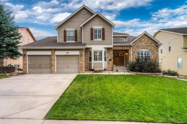 543 Stonemont Drive, Castle Pines, CO 80108 (#6850352) :: The Pete Cook Home Group