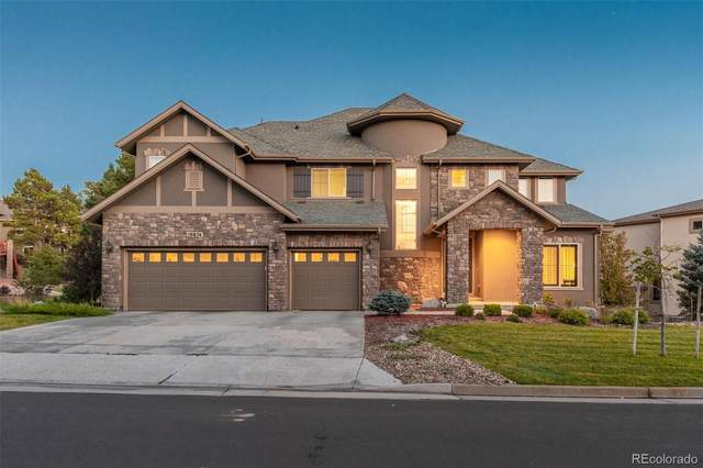 19874 E Crooked Pine Circle, Parker, CO 80134 (#6858087) :: The Scott Futa Home Team