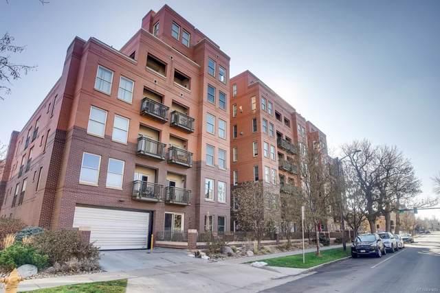 1630 Clarkson Street #210, Denver, CO 80218 (#6859902) :: Wisdom Real Estate