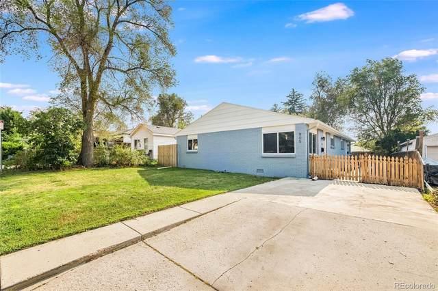 805 Newton Street, Denver, CO 80204 (#6861598) :: Kimberly Austin Properties