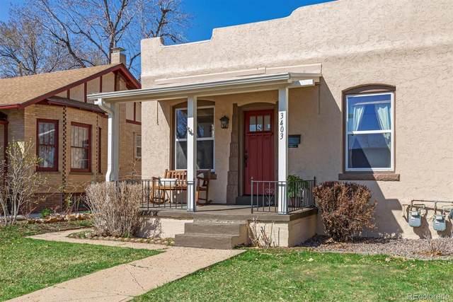 3403 Raleigh Street, Denver, CO 80212 (#6864009) :: milehimodern