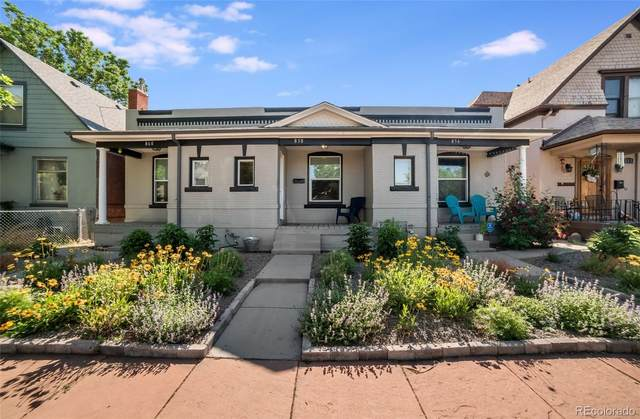 858 Fox Street, Denver, CO 80204 (#6866255) :: West + Main Homes