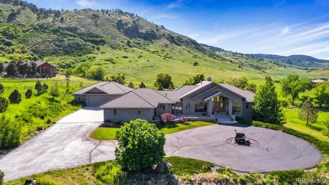 5881 Deer Meadow, Golden, CO 80403 (#6868037) :: Finch & Gable Real Estate Co.