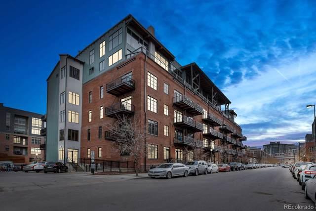 2960 Inca Street #101, Denver, CO 80202 (#6868323) :: milehimodern