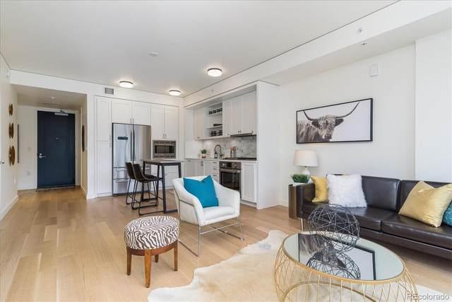 1750 Wewatta Street #1225, Denver, CO 80202 (#6869967) :: Finch & Gable Real Estate Co.