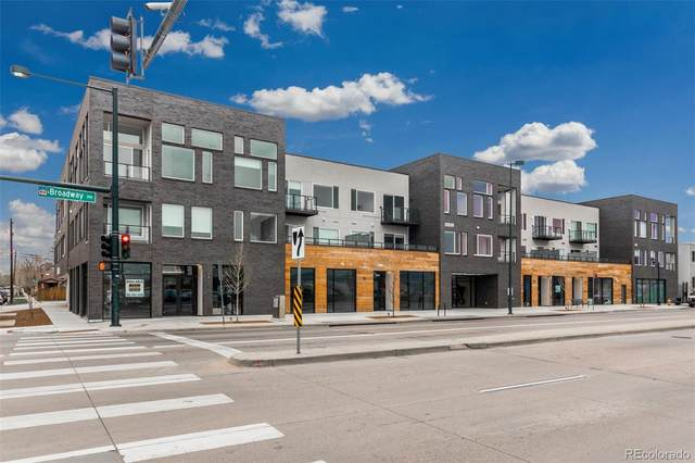 1616 S Broadway #313, Denver, CO 80210 (#6870111) :: The Scott Futa Home Team