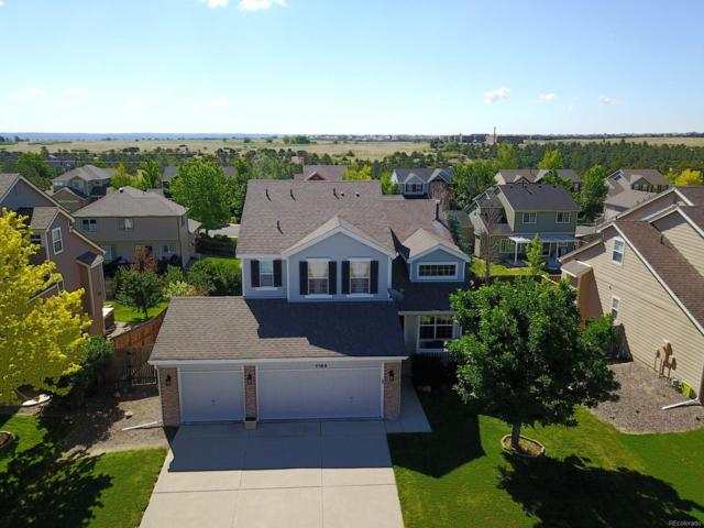 1194 N Burlington Drive, Castle Rock, CO 80104 (#6870400) :: The Griffith Home Team