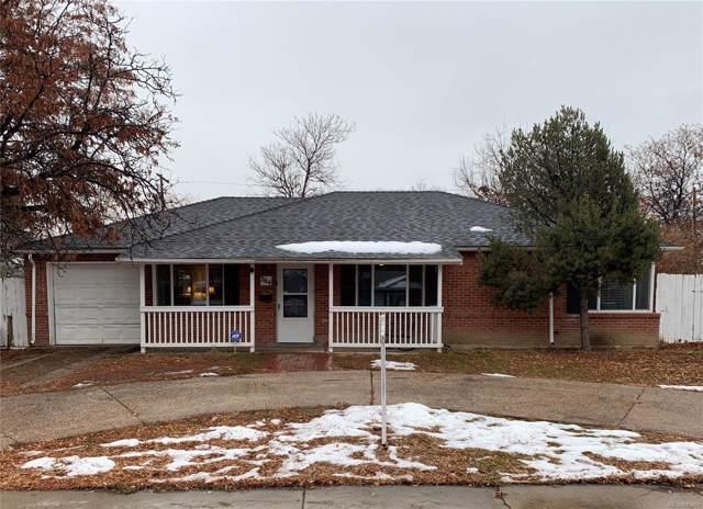 764 Ursula Street, Aurora, CO 80011 (#6871224) :: The HomeSmiths Team - Keller Williams