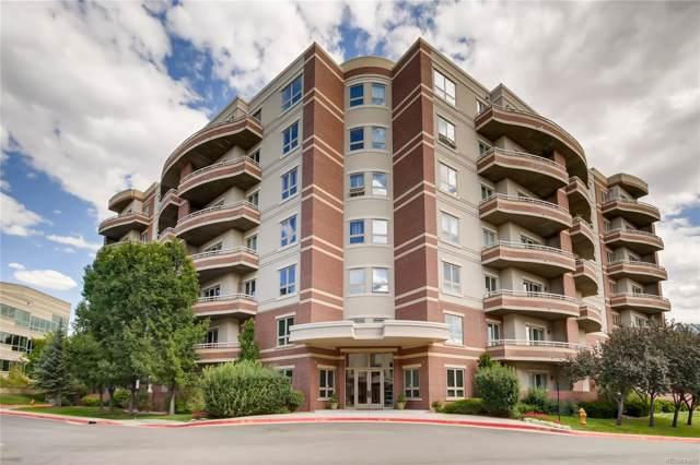 4875 S Monaco Street #105, Denver, CO 80237 (#6872644) :: The DeGrood Team