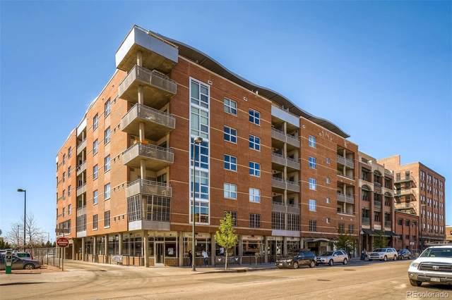 2229 Blake Street #502, Denver, CO 80205 (#6880473) :: Portenga Properties - LIV Sotheby's International Realty